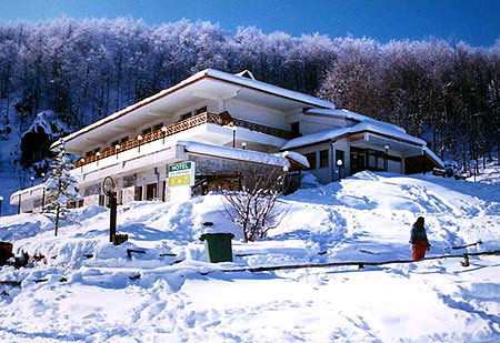 The hotel of the ski centre